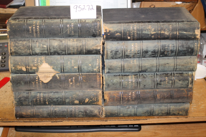 Adams, Charles Kendall: The Universal Cyclopedia (12 volumes)
