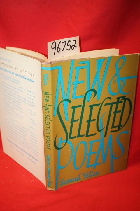 Yellen, Samuel: New & Selected Poems