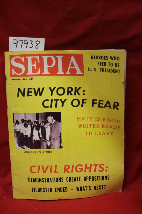 Young, A. S.  Doc : SEPIA Volume 16 Number 8 August, 1964 NYC of