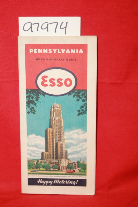 Esso: Pennsylvania with Pictorial Guide