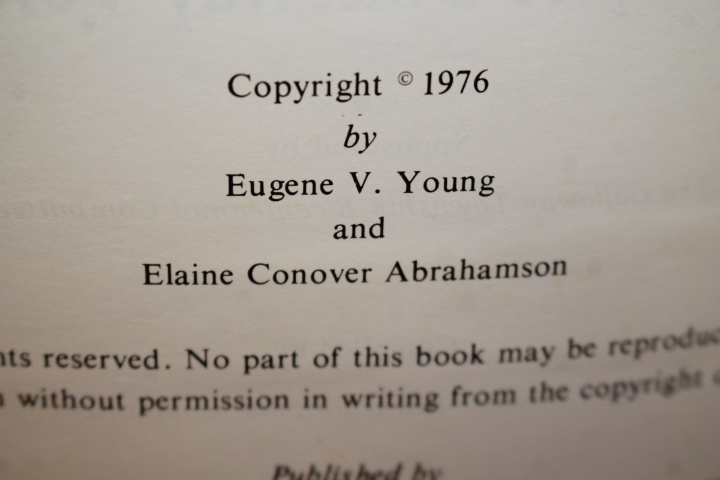 Young, Eugene V.; Abrahamson, Elaine Conover;...: The Story of G