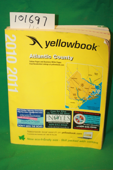 Yellowbook: Yellowbook Atlantic County 2010 2011 (yellow pages p