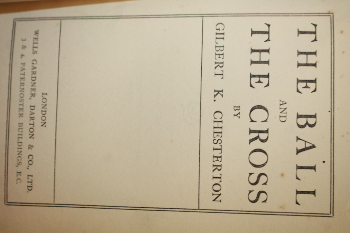 K. Chesterton, G.: The Ball and the Cross