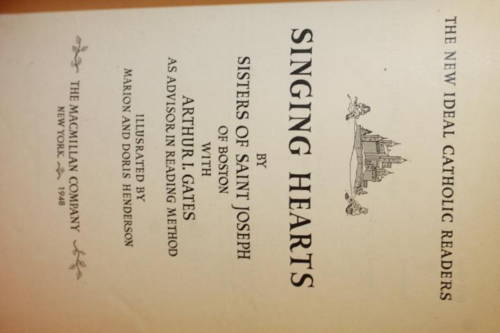 Sisters of Saint Joseph of Boston; I. Gates, Arthur: Singing Hea