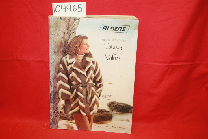 Aldens: Aldens 1974 Fall and Winter Catalog of Values