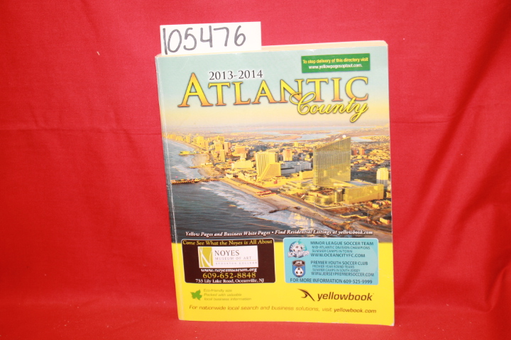 Yellowbook: Yellow/White Pages: Atlantic County 2013-2014