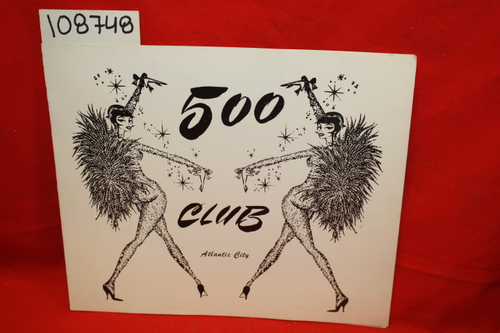 500 Club Photo Folder ATLANTIC CITY: 500 Club Photo Folder ATLAN