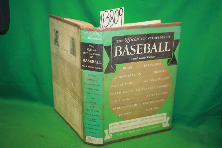 Turkin, Hy ; Thompson, S. C.: The Official Encyclopedia of Baseball All-Time ...