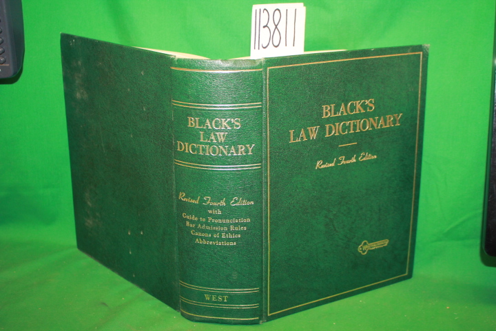 Black, Henry Campbell: Black's Law Dictionary Revised Deluxe Fourth Edition