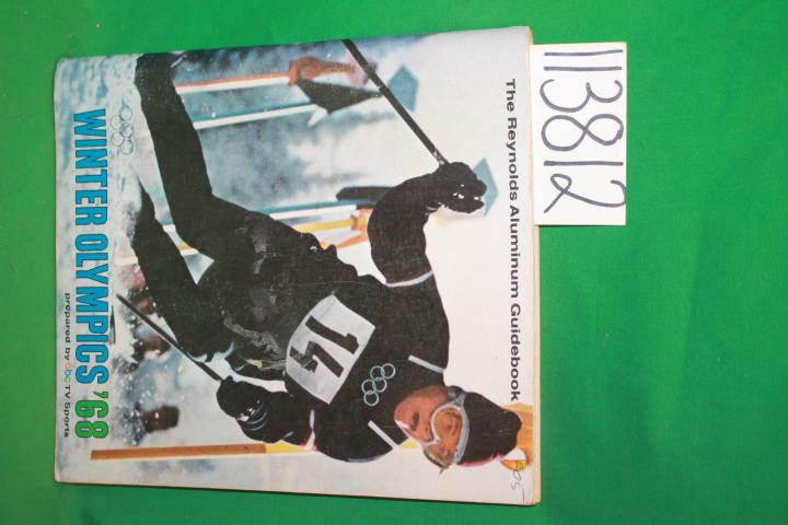 Mehlman, Bill: The Reynolds Aluminum Guidebook Winter Olympics '68